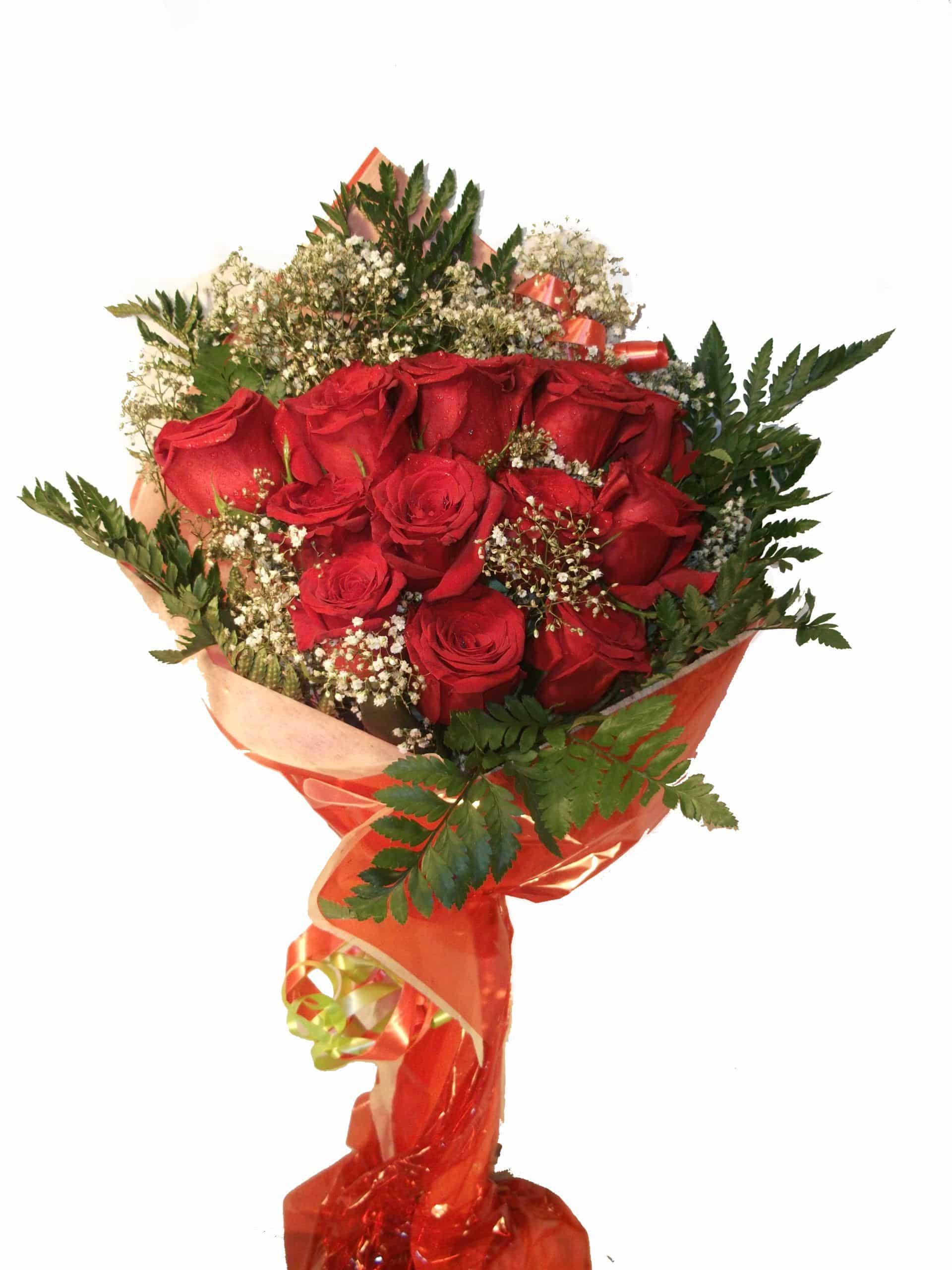 Enviar ramo de 12 rosas